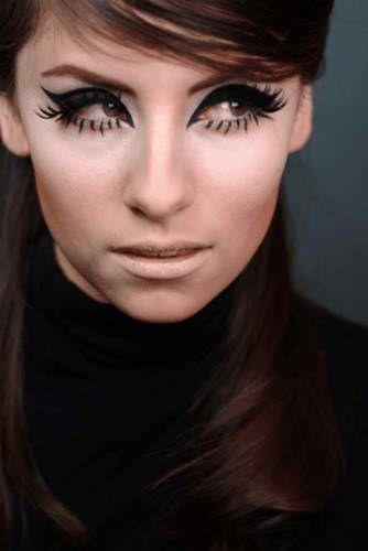 60 S Mod Makeup Mod Makeup
