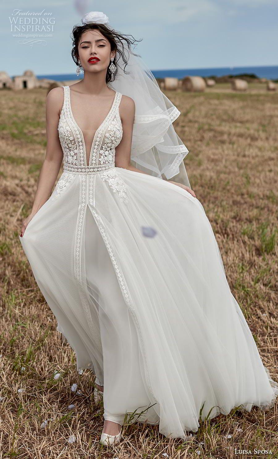 Abiti Da Sposa Luisa.Luisa Sposa 2020 Wedding Dresses Matrimonio Sulla Spiaggia