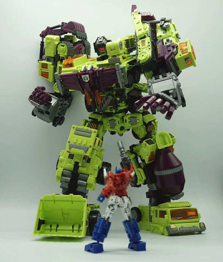NEW transforms NBK Devastator Transformation Boy Toy Oversize Action Figure