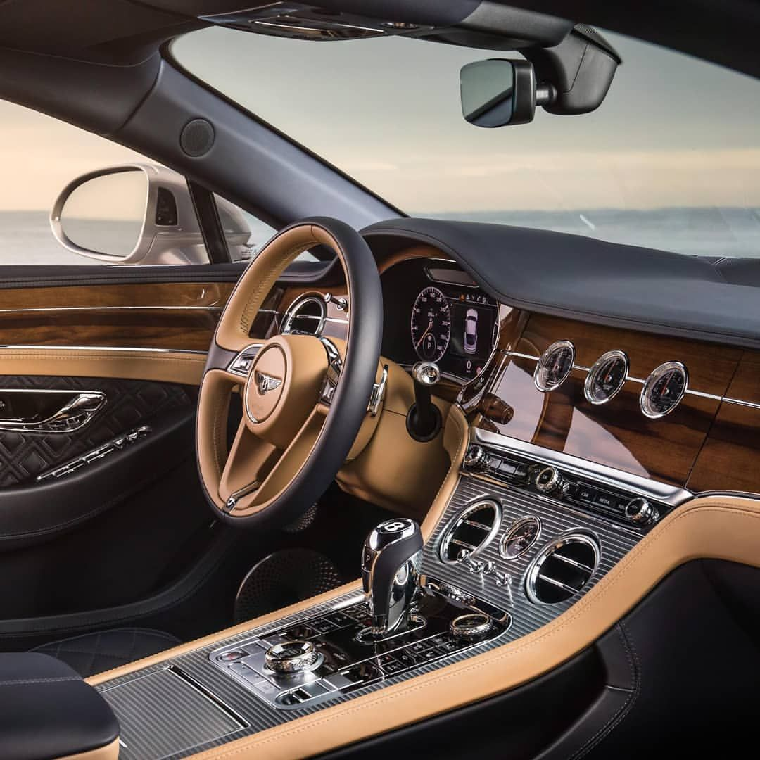 Bentley Luxury Car Inside: The New Bentley Continental GT