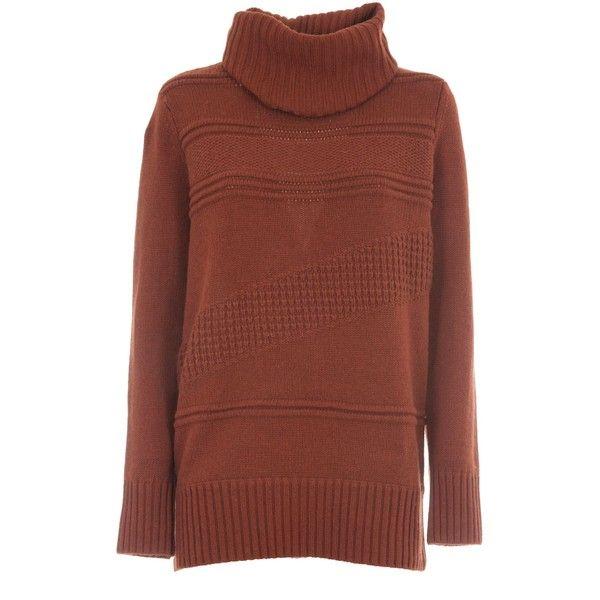 Diane Von Furstenberg Oversized Turtleneck Sweater (960 BRL ...