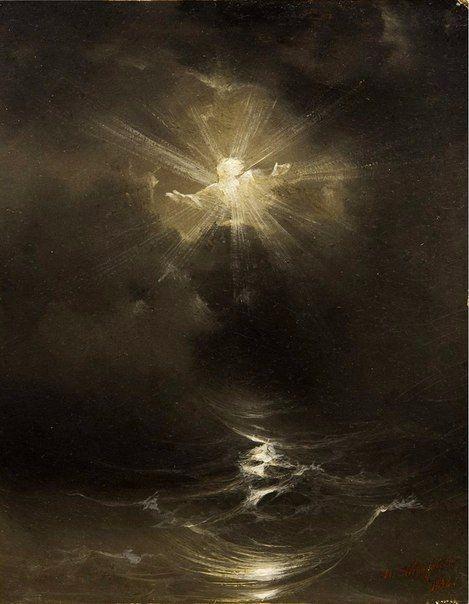 Иван Айвазовский, Хаос. Сотворение мира, 1838 | Искусство ...