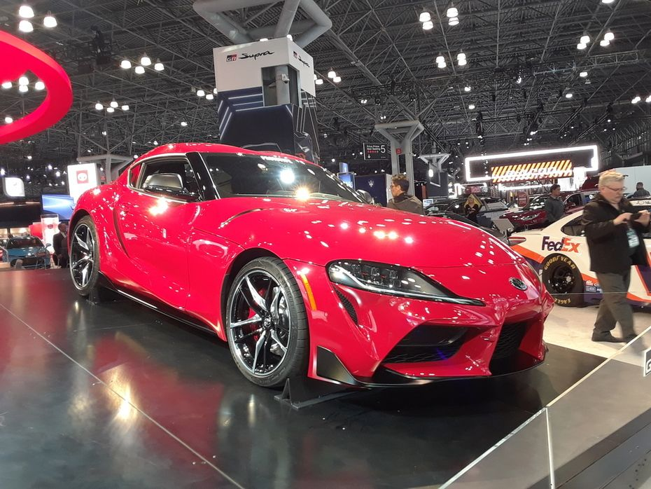 2020 Auto Show Calendar New York International Auto Show 2019 2020 Toyota Supra