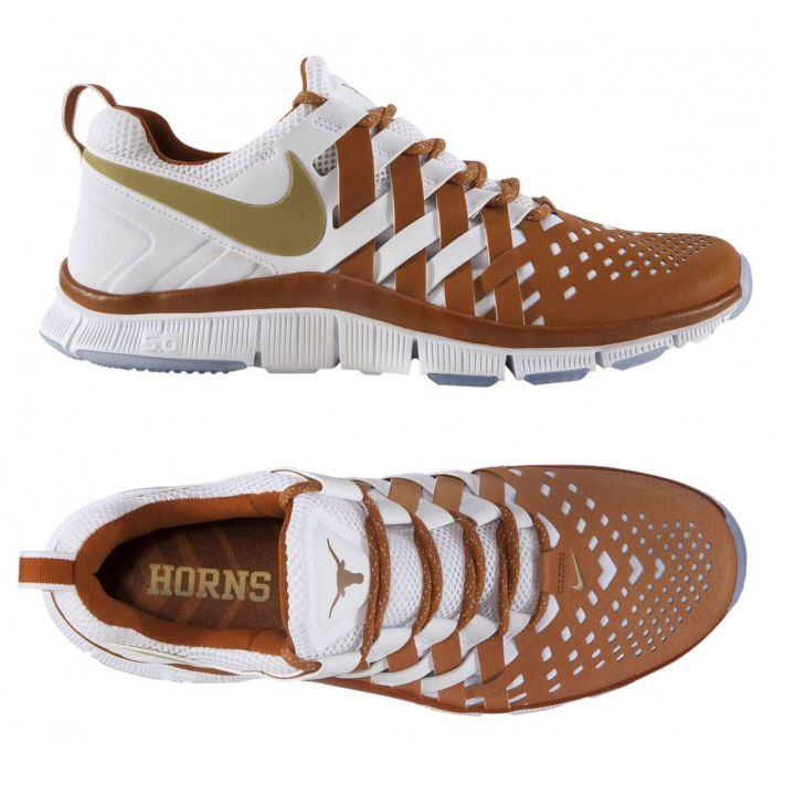 best authentic cc089 9418f Texas Longhorns Nike Free Trainer 5.0 These shoes sold out less than 24  hours...I was so bummed!! (Teach me to wait until the next day!)