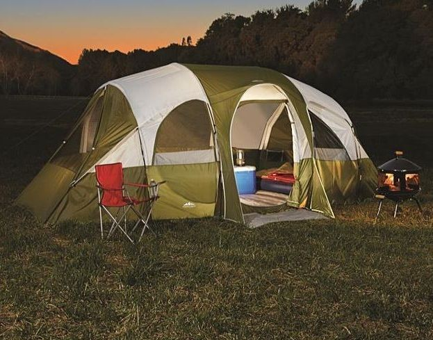 C&ing Tents 8 Person Family Equipment Instant Cabin Frame Tent Hiking Gear #NorthwestTerritory #Cabin : family frame tents - memphite.com