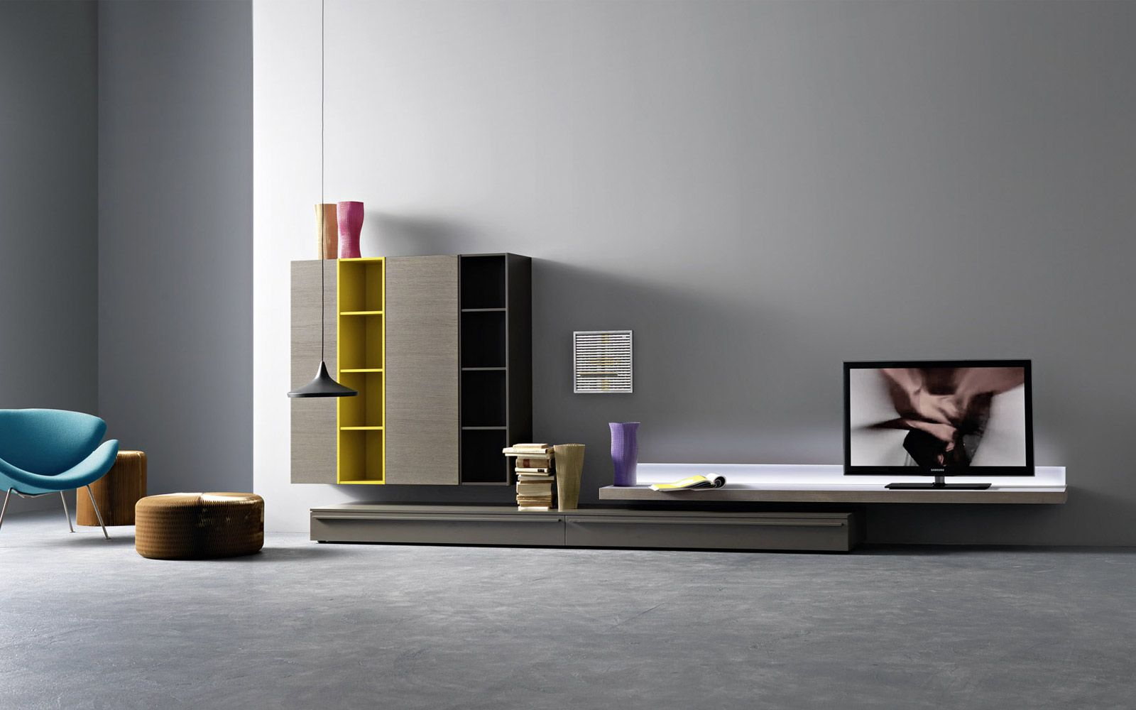 TV Wand Lampo L2-17 - Möbel / Wohnzimmermöbel / Möbel für ...
