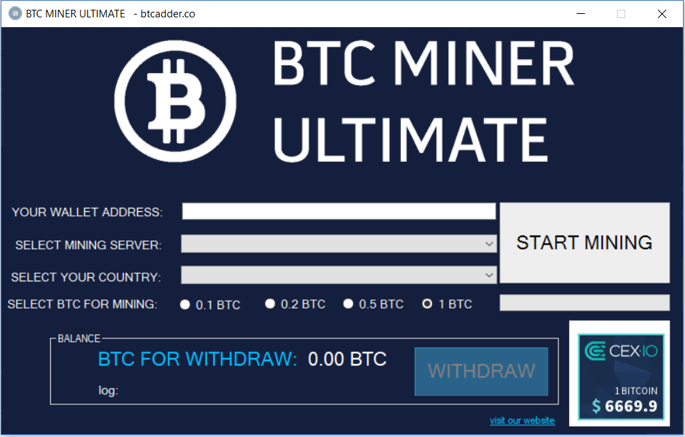 Btcadder Co Is Bitcoin Cloud Mining Platform Start Bitcoin Mining Free And Get Upto 1 Btc Per Day Btc Miner Free Bitcoin Mining Cloud Mining