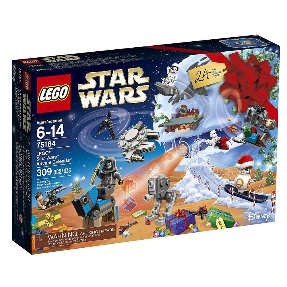 Lego Star Wars Advent Calendar 75184 Building Kit 309 Piece