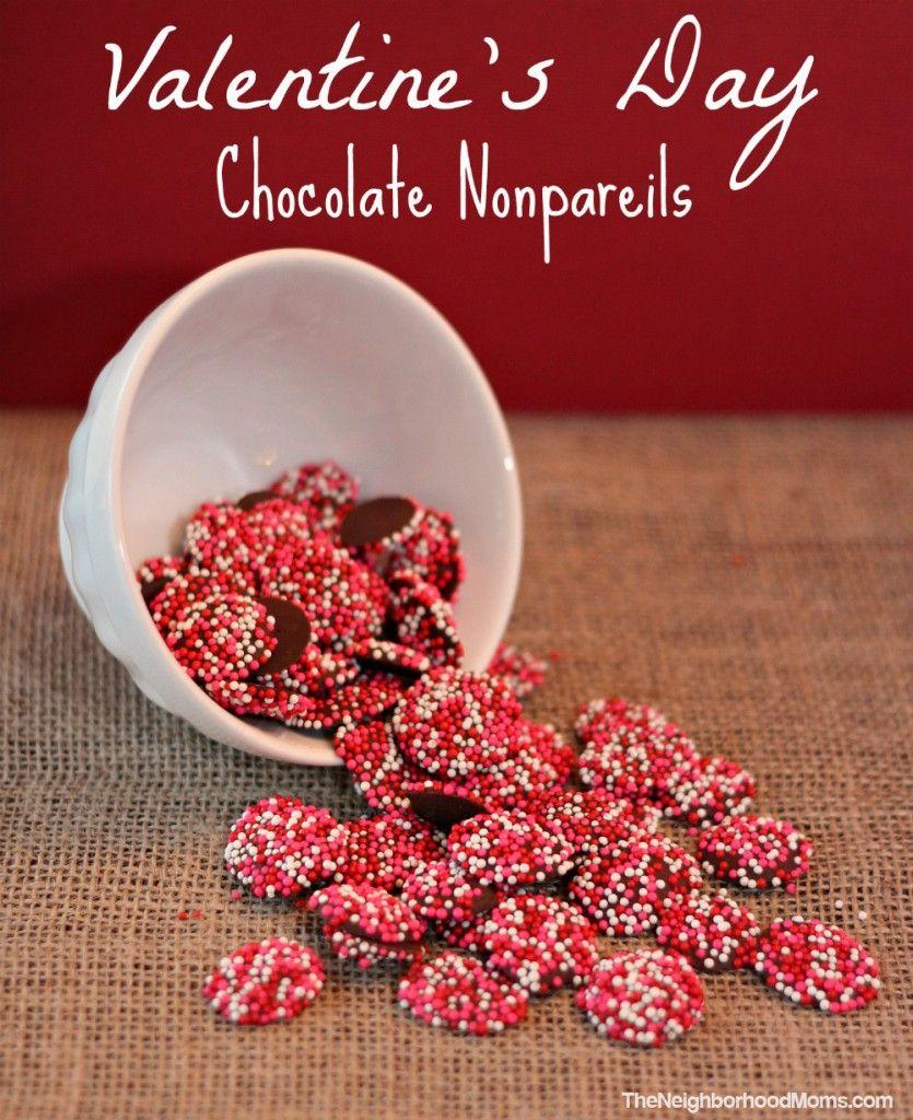 Homemade Chocolate Nonpareils aka Sno-Caps | Neighborhood ...