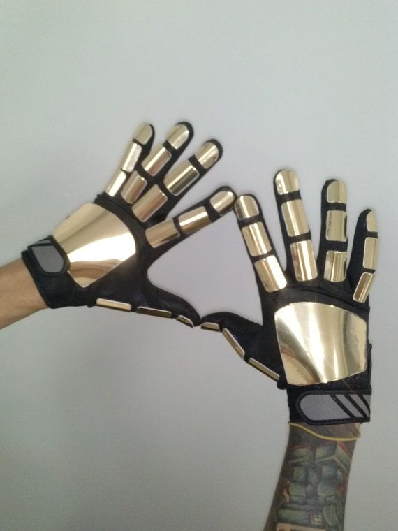 Daft punk gloves on Etsy £137.93 & Daft punk gloves on Etsy £137.93   Halloween   Pinterest   Daft ...