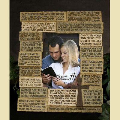 Scripture Photo Frame | Scriptures