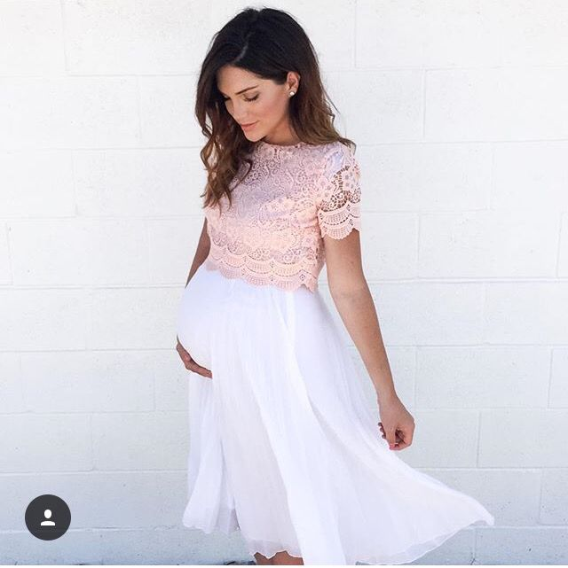 amazing quality modern design exceptional range of styles Maternity idea- crop top and skirt! | Maternity | Maternity ...