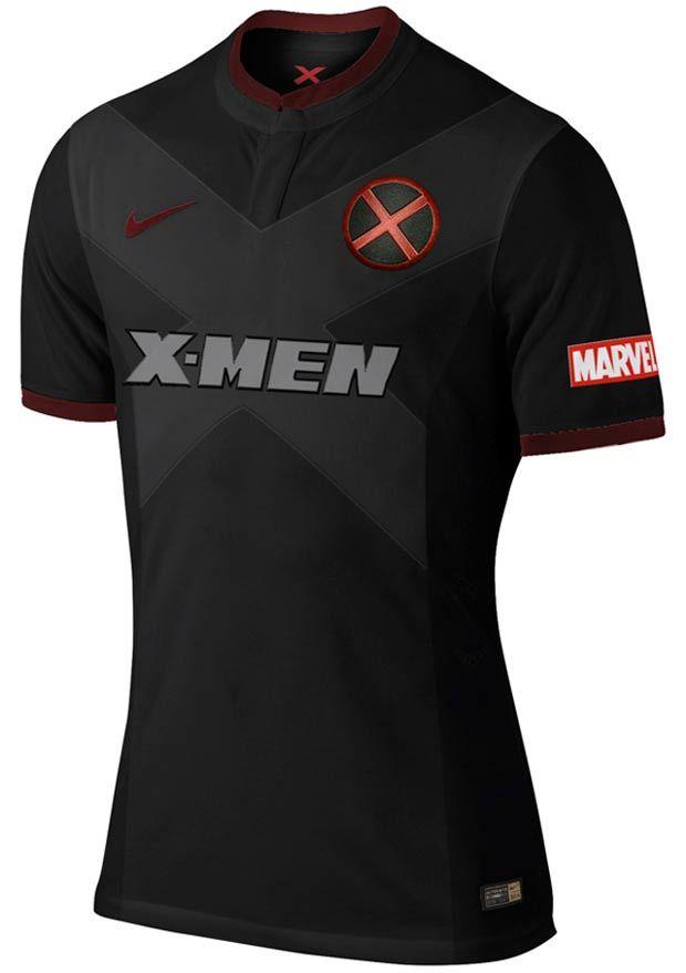 Camisa-futebol-herois-x-men  d926fd21e4875