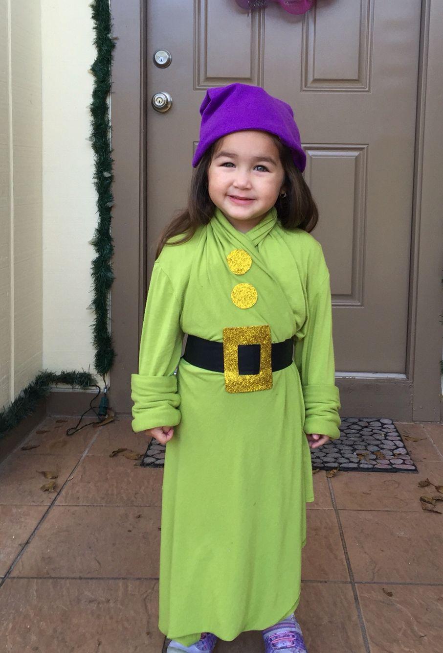 DIY Dopey Costume Snow white halloween costume, Shrek