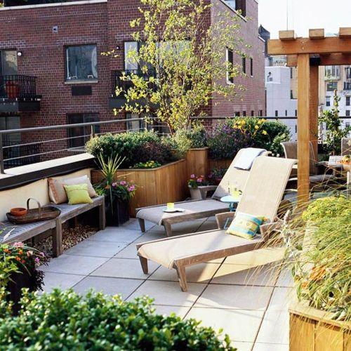 Perfekt Coole Balkon Möbel Ideen U2013 15 Praktische Tipps Für Eine Schöne Terrasse    Coole Terrasse Balkonmöbel Ideen Liegestuhl