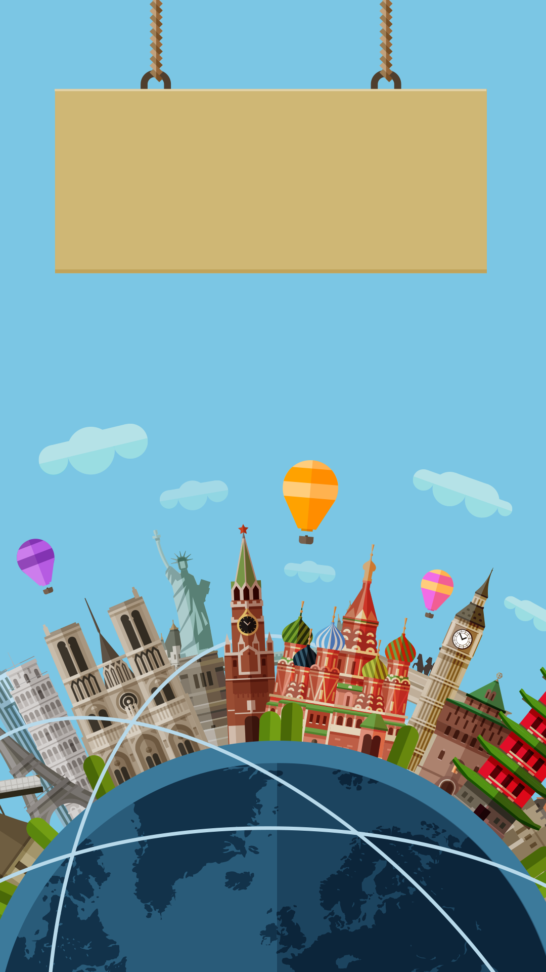 Tap And Get The Free App Lockscreens Art Creative Travel Vacation Multicolor Sky Clouds Hd Iphone 6 Plus L Smartphone Hintergrund Hintergrund Computerspiele