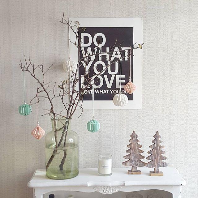 Deko ecke wohnzimmer  Winter Wonderland mal anders - unsere kleine Deko-Ecke im Wohnzimmer ...