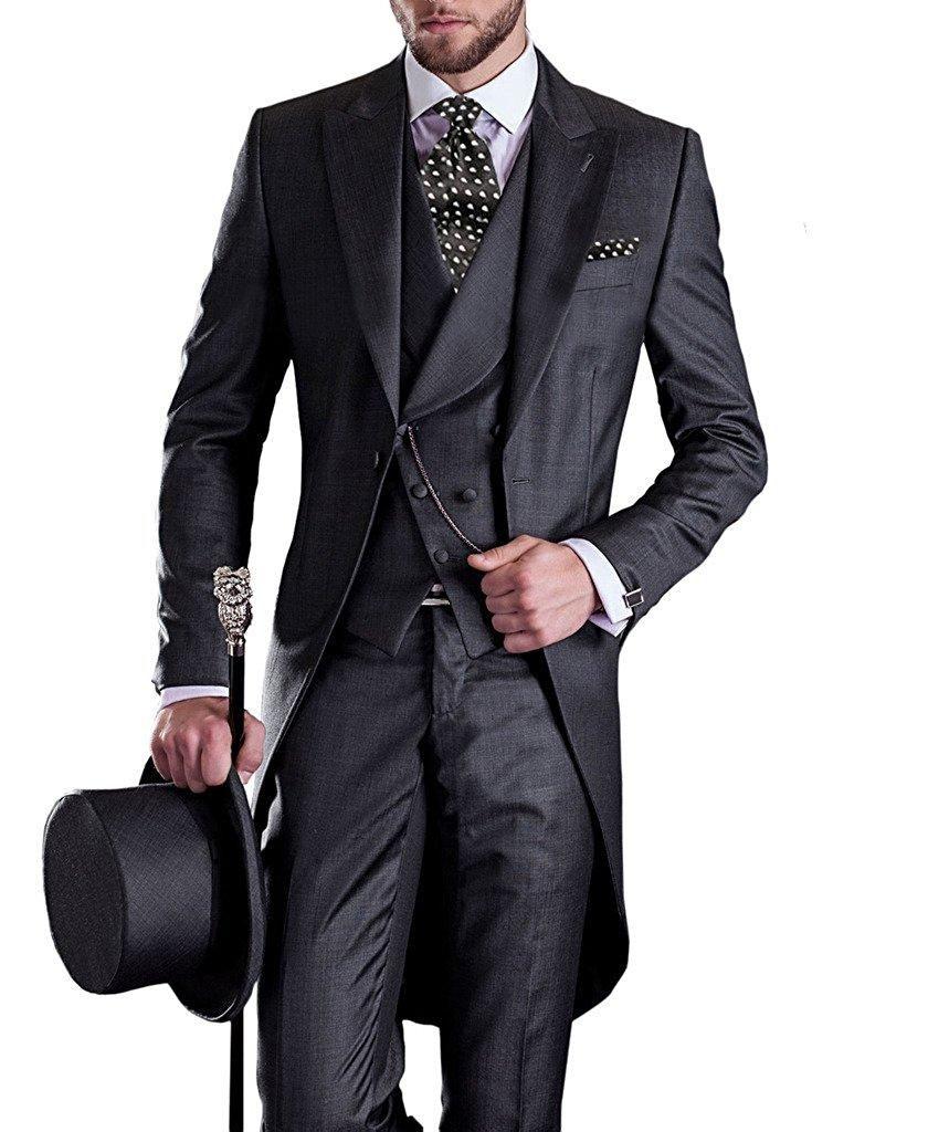 Alex S Suit 1920s Mens Fashion 1920s Mens Costume Black Suit Jacket [ 1024 x 840 Pixel ]