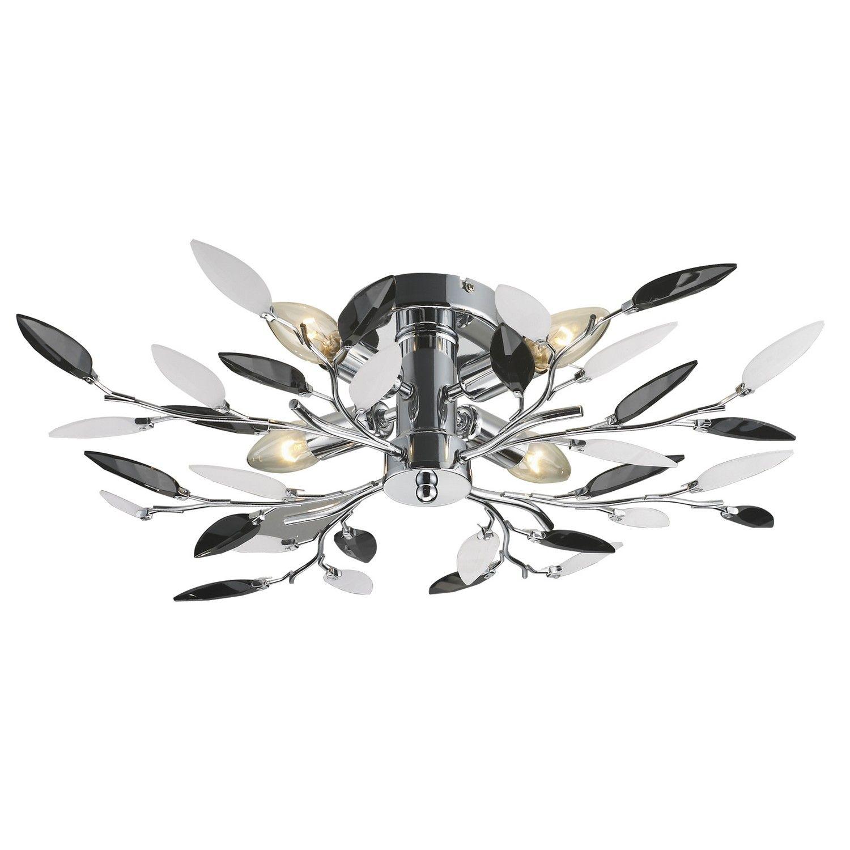 Buy black leaf pendant 4 light ceiling lights the range buy black leaf pendant 4 light ceiling lights the range aloadofball Images