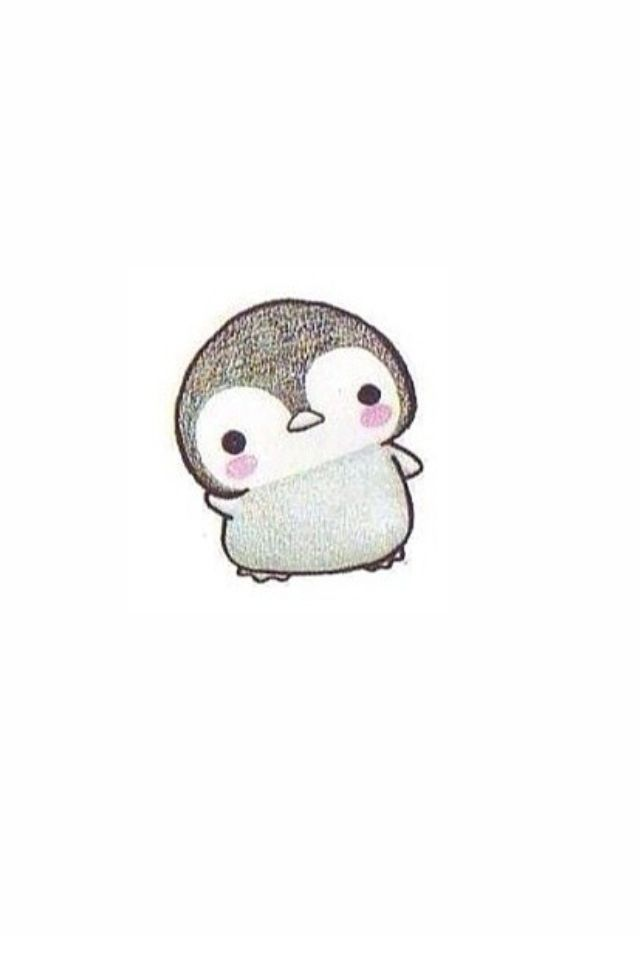 Line Drawings Of Cute Animals : Penguin cuteness fun pinterest penguins