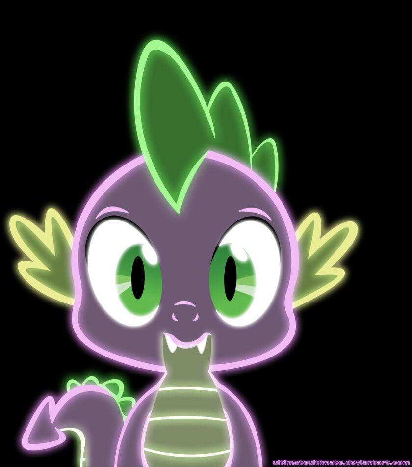 Neon Ponies (lol he's a dragon)