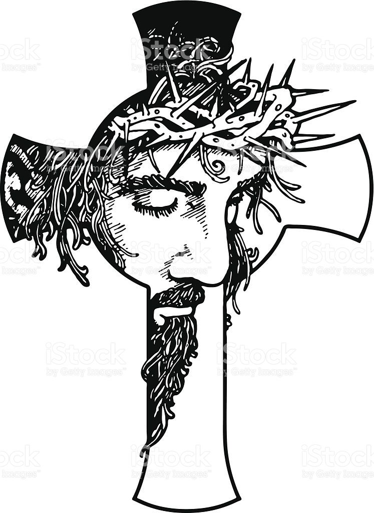 jesus cross royalty free stock vector art rock art pinterest rh pinterest co uk maltese cross vector art free cross country vector art