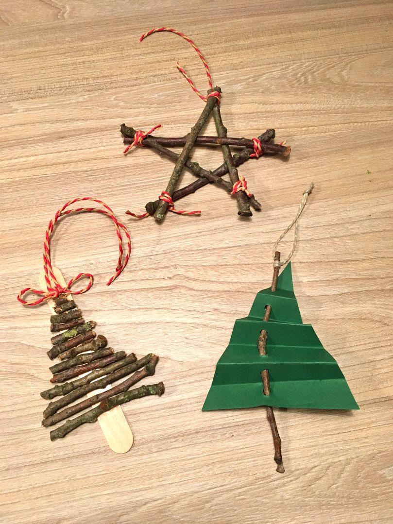 Adventsbasteln Mit Naturmaterialien Weihnachtenadvent Diy Mit