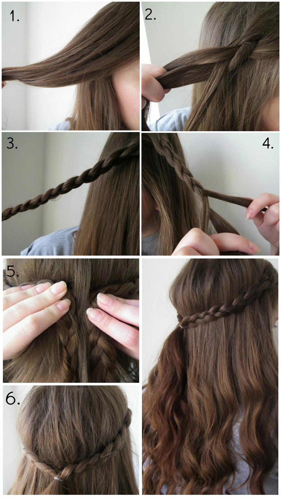 Quick u easy braid hairstyle perfect look for spring and summer