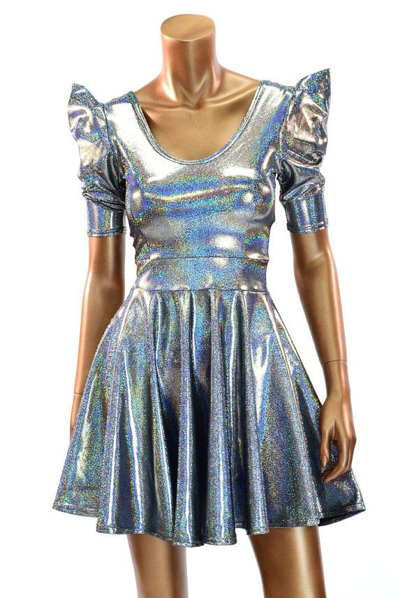 Plutos Princess Womens Adult Outer Space Alien Halloween Costume