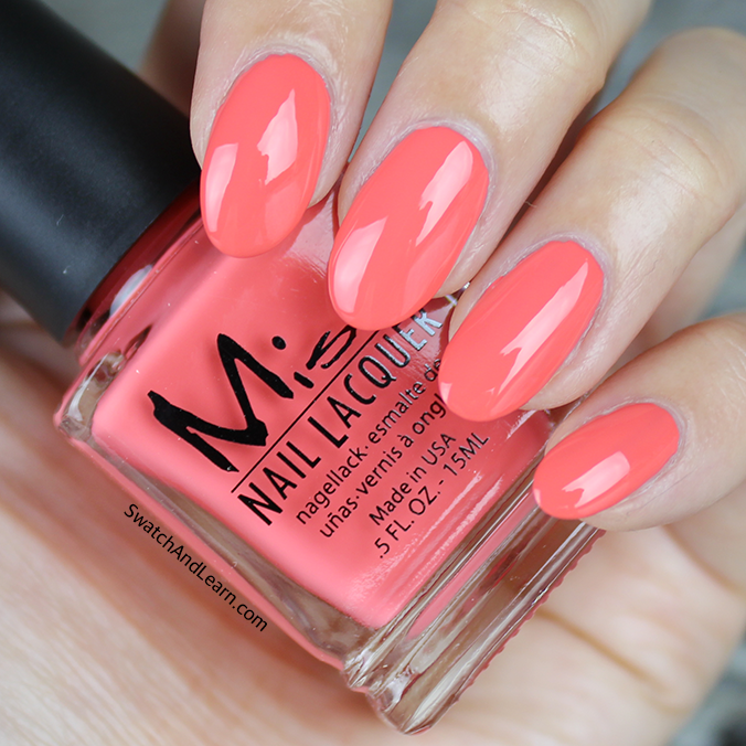 Misa Tiger Lily Swatch Pastel Me All About It Collection Swatches ...