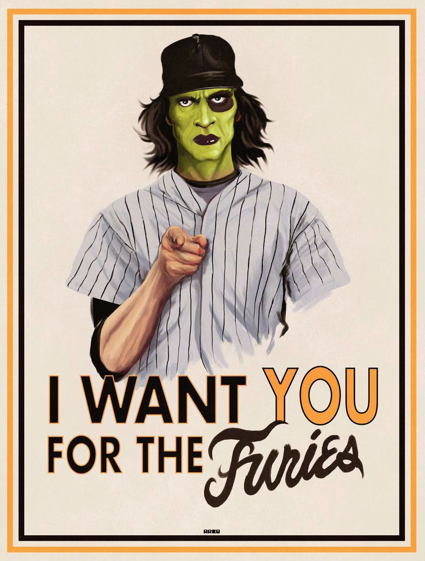 Baseball Furies By Matt Ferguson Kaseybellefox Fury Poster Warrior Movie Warrior