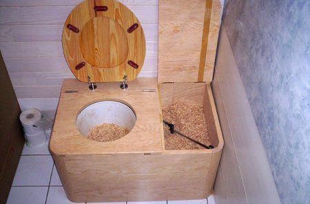 DIY Life Hacks  Crafts  Les toilettes sèches sont utilisés dans - Toilette Seche Interieur Maison