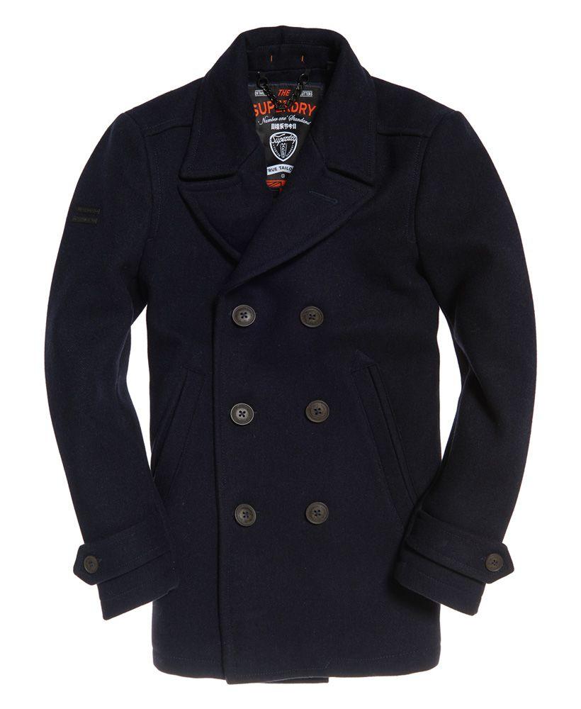 Style Arc Beatrice Pea Coat: Superdry Merchant Pea Coat In 2019