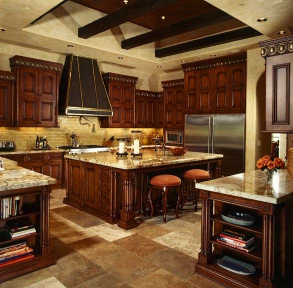 Mediterranean Kitchen Bellevue Wa: Custom Designed By Fratantoni Luxury Estates.