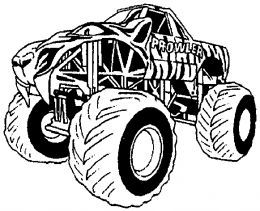 Monster Trucks Kids Coloring Pages And Free Colouring Pictures To Print Monster Truck Coloring Pages Truck Coloring Pages Monster Trucks