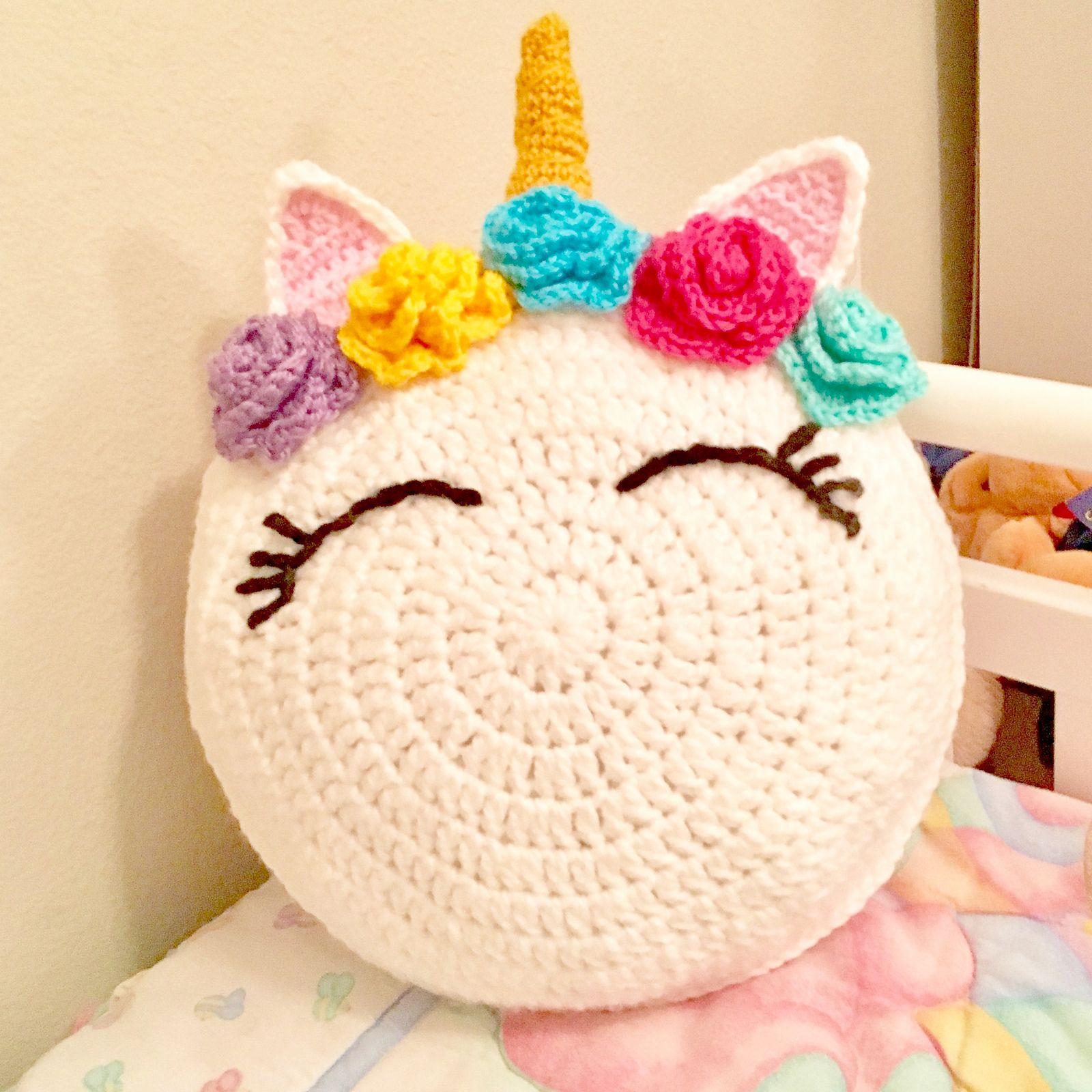 Unicorn pillow pattern by susan capizzi ravelry crochet and patterns