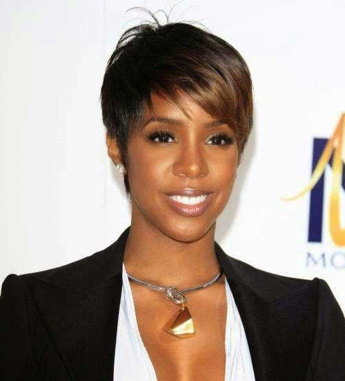 African American Short Hairstyles With Bangs Photo 3