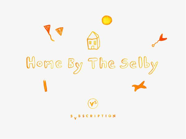 Home byThe Selby- a collaboration with Svbscription. Illustration -Todd Selby.