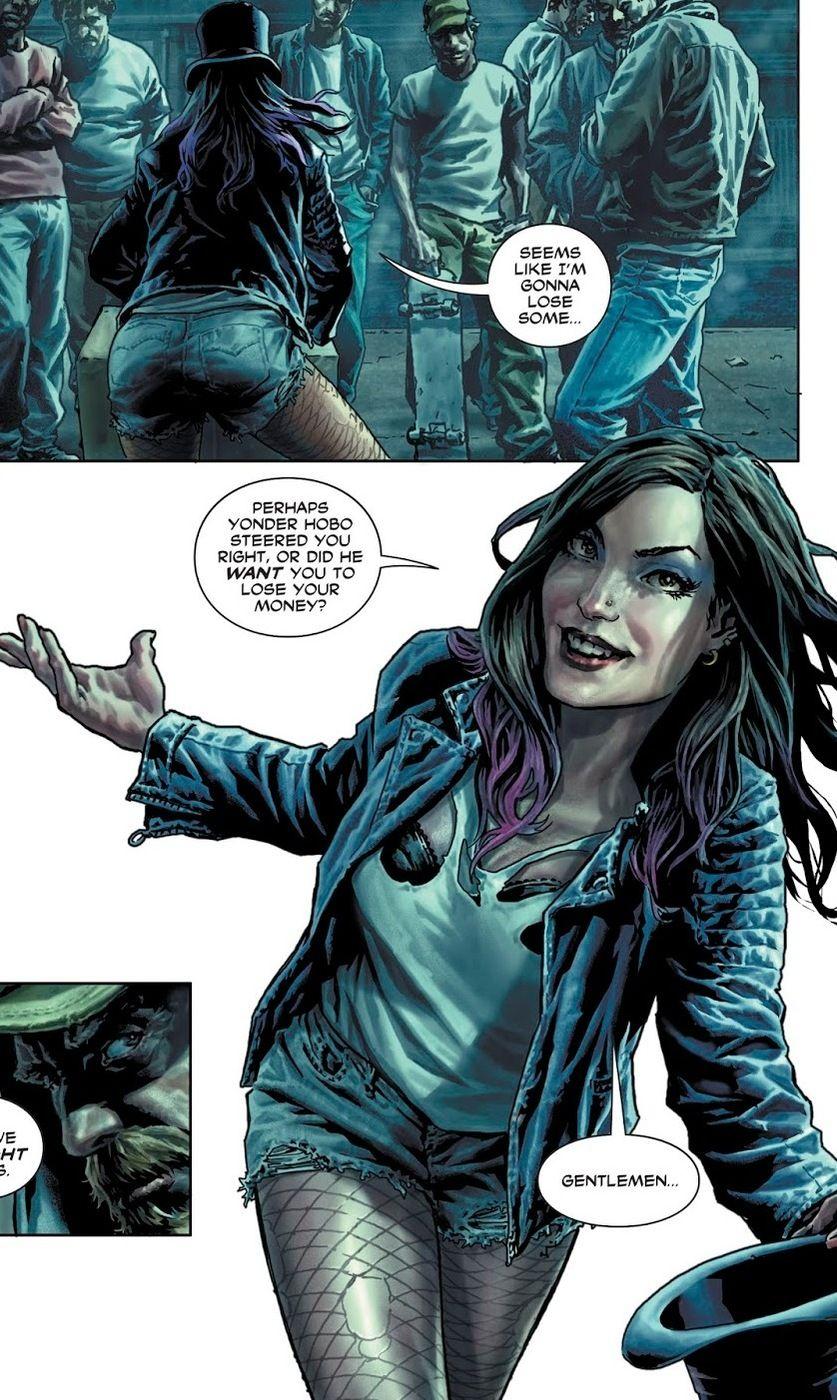 Zatanna in Hot Pants | Dc comics, Magic man, Comics