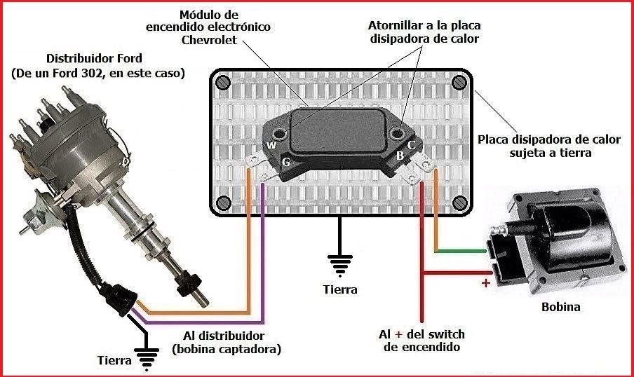 Unilite Distributor Wiring