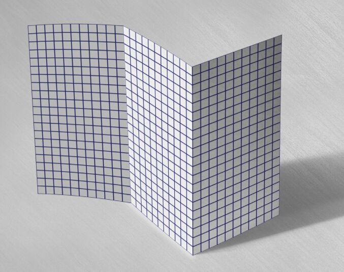 Blank Tri Fold Brochure Template | Free Blank Tri Fold Brochure Template With Grid Psd Brochure