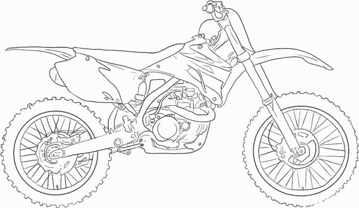 Bike Drawing By Lyn Cooper On Brody S Page Motorcycle Drawing