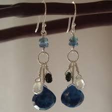 earrings handmade designs - Buscar con Google