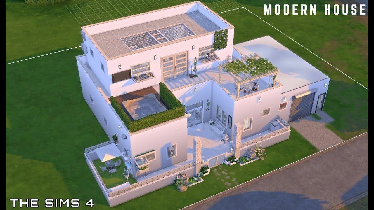 Modern Minimalist House Part 1 Sims 4 El Rinconcito De Andrea