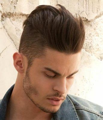 Manner Lang Fauxhawk Haare Stil Mit Kurzhaarschnitt Hair