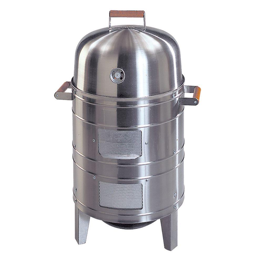 Americana Americana Double Grid Charcoal Water Smoker In