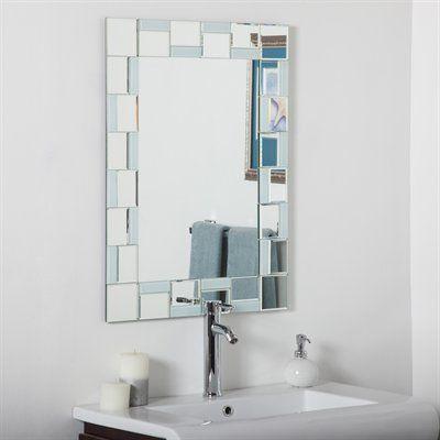 Decor Wonderland Bathroom Mirror Ssm310710 Quebec Modern 23 6 X 31