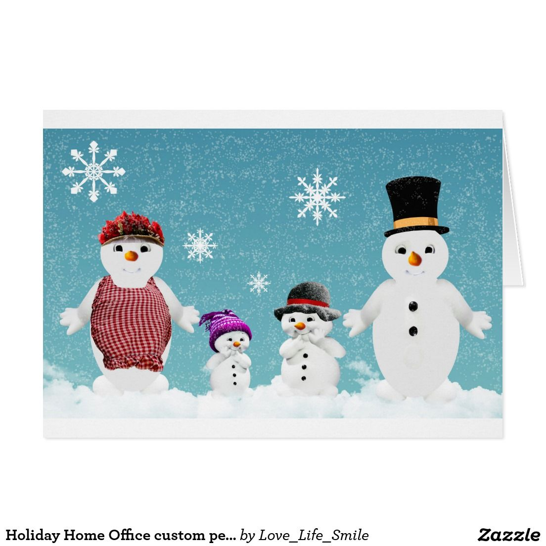 Snow Cute Home Office custom personalize business Card | Business ...