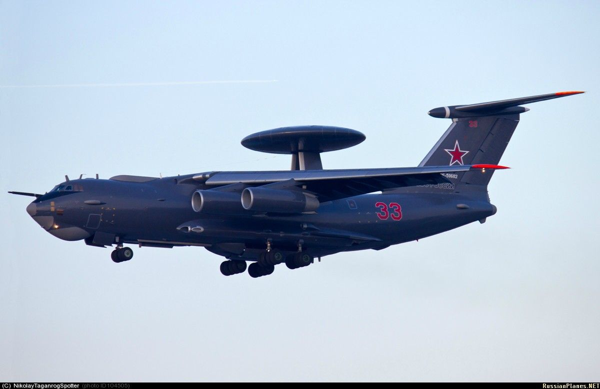 """Russian AWACS Beriev A 50 """"Mainstay"""" with new paint job"""