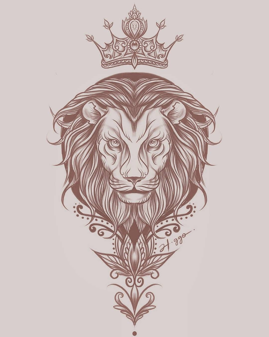 The Lion King Art Tattoo Sketch Ink Liontattoo Desenhando